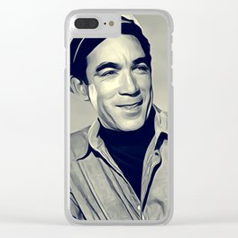 Anthony Quinn, Vintage Actor Clear iPhone Case