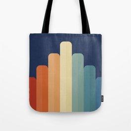 Retro Chart Tote Bag