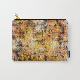Urban Grunge Decay Texture Abstract Pattern Design , Rugged Mixed Media Modern Art Painting Carry-All Pouch