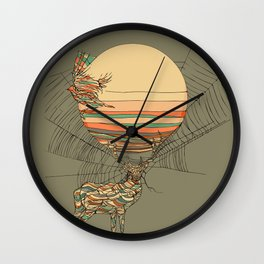 The Haunting Idle Wall Clock