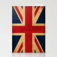 union jack Stationery Cards featuring Union Jack by NicoWriter