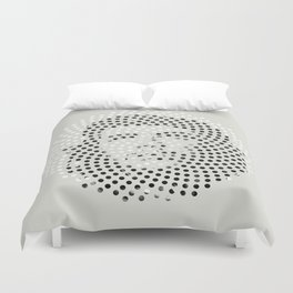 Optical Illusions - Iconical People 5 Duvet Cover