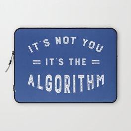 Blame the Social Media Algorithm Laptop Sleeve