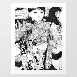 Dolly Princess Art Print