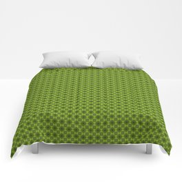 Fragment collection : Green apple Comforters