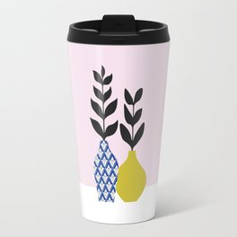 Floral Vase No.1 Travel Mug