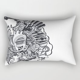 Heart Beat Rectangular Pillow