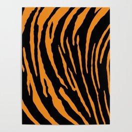 Tiger Stripes Poster