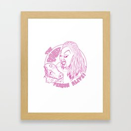 The Filthiest Person Alive! Framed Art Print