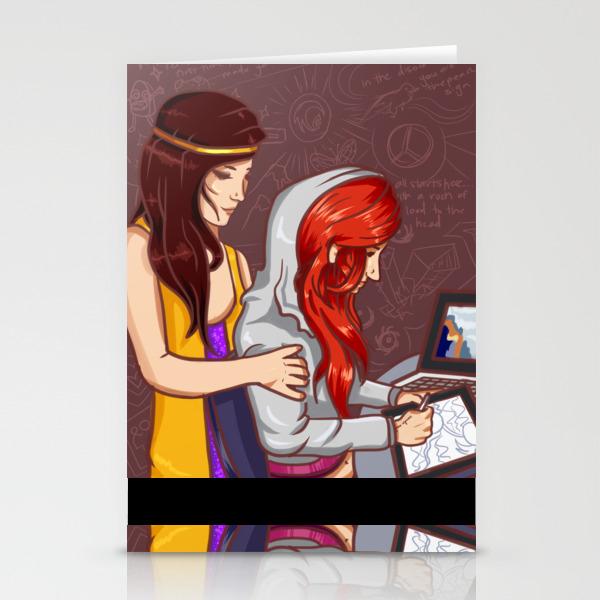 Lights Nostalgia Stationery Cards by Drivemysoul CRD8874871
