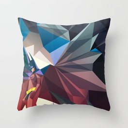 Cave Man Throw Pillow