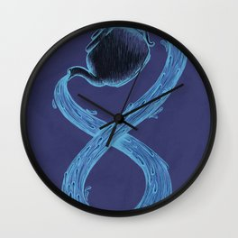 Infinite Tea Wall Clock
