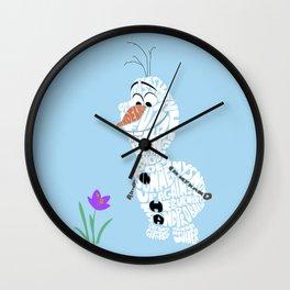 in summer  Wall Clock