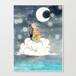 Moon Dreams Canvas Print