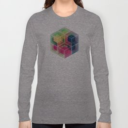 Colorful Cubes Long Sleeve T-shirt