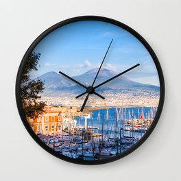 Naples, Italy Wall Clock