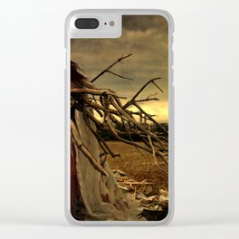 Ripe With Decay Clear iPhone Case