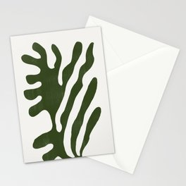 Alga, Seaweed, Green Plant Stationery Cards