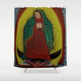 La Virgen De Guadalupe Shower Curtain