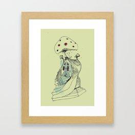 the shroooom Framed Art Print