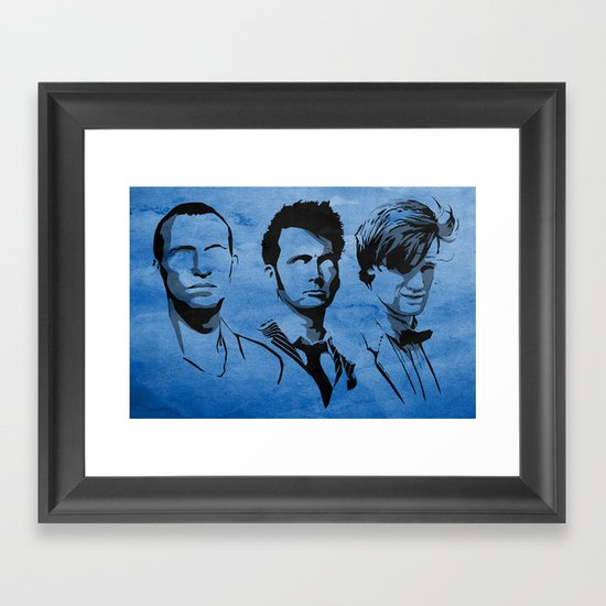The Doctor Framed Art Print