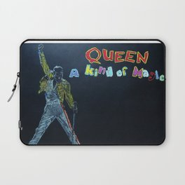 Freddie & Mercury A kind of Magic Tribute Laptop Sleeve