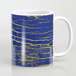 Stone Blue Yellow Coffee Mug