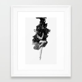 The born of the universe Framed Art Print