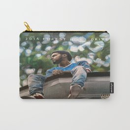 J.Cole 2014 Forest Hills Drive Drawing Carry-All Pouch