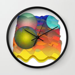 Sea Symphony Opus 101 Wall Clock
