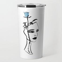Rose Vase Travel Mug
