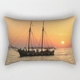 pirat boat Rectangular Pillow