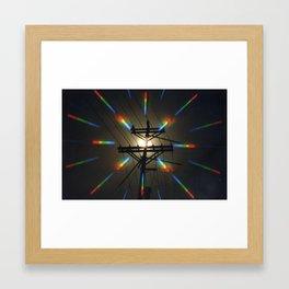 Power Junction Framed Art Print