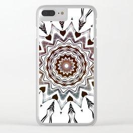 Autumn dream-catcher Clear iPhone Case