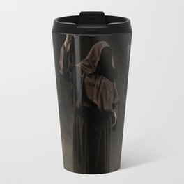 Wizard and magic staff Travel Mug