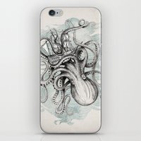 ships iPhone & iPod Skins featuring The Baltic Sea by David Fleck