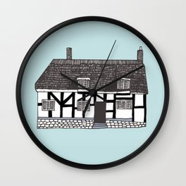 'Coventry' House print Wall Clock