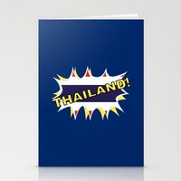 thailand Stationery Cards featuring Thailand by mailboxdisco