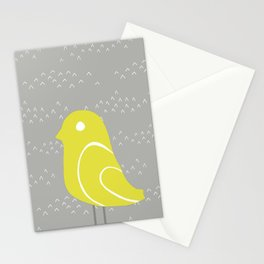 Bird on tussocks Stationery Cards