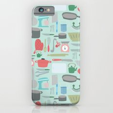 Kitchen Pattern iPhone 6s Slim Case