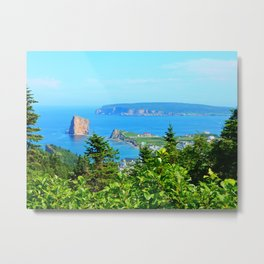 Perce From Dawn's Peak Metal Print