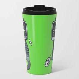 Programmer cat  makes a website Travel Mug