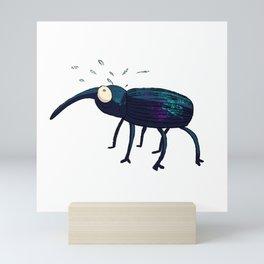 Distraught Beetle 1 Mini Art Print