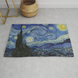 THE STARRY NIGHT - VAN GOGH Rug
