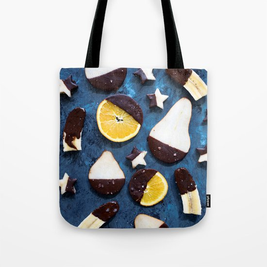 fruits dipped in chocolate Tote Bag