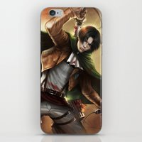 levi iPhone & iPod Skins featuring Levi Heichou by K.Koji