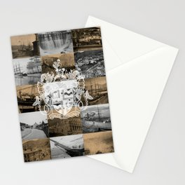 Historical Lyttelton White & Kraft Stationery Cards