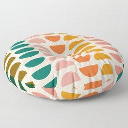 Retro 70s Geometrics Floor Pillow