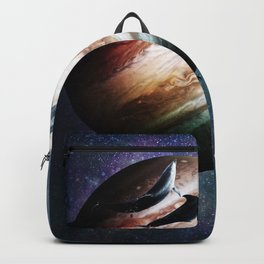 Cosmic Dolphins In Space Backpack