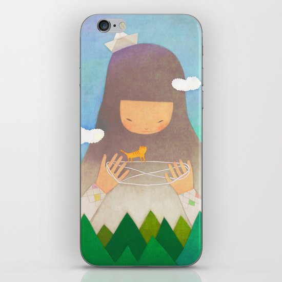 Forest giant iPhone & iPod Skin